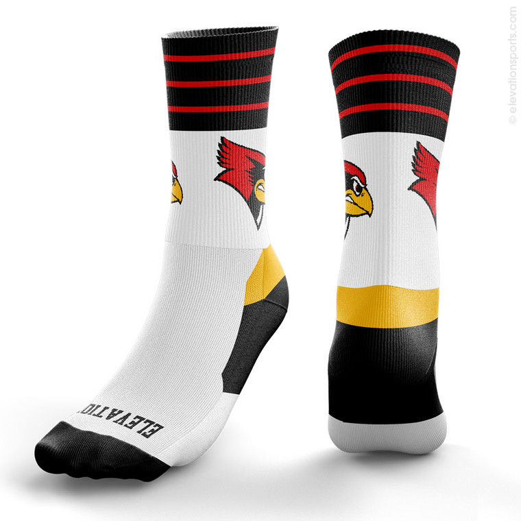Elevation Custom Socks - 4 Stripes