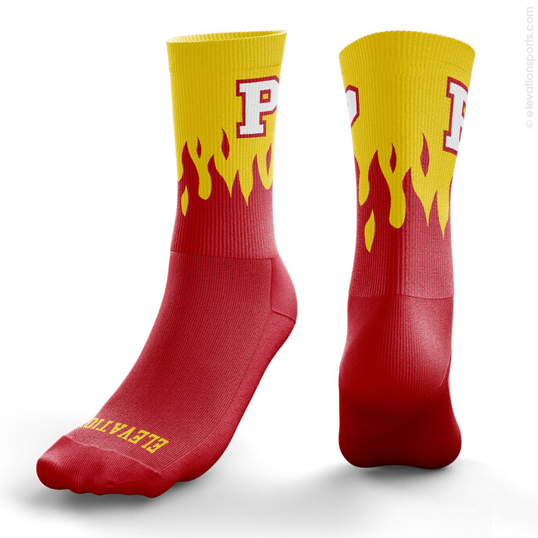 Elevation Custom Socks - Blaze