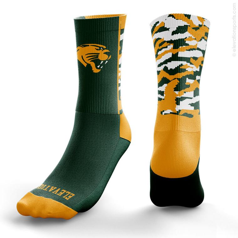 Elevation Custom Socks - Camo