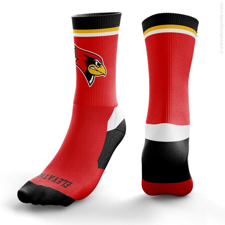 Elevation Custom Socks - Top Stripe