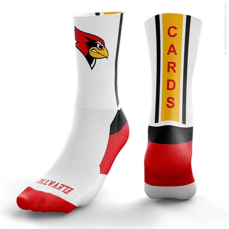 Elevation Custom Socks - Vertical Stripe