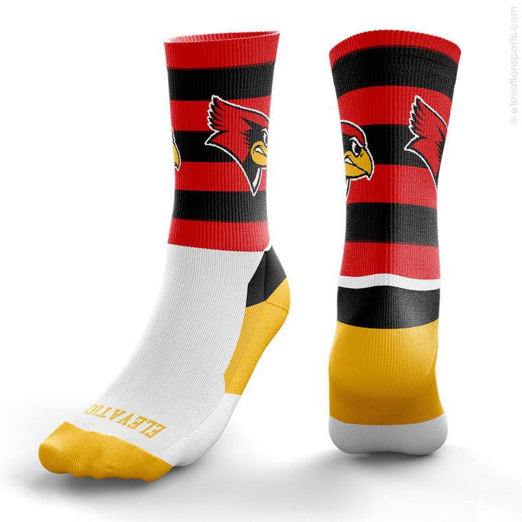 Elevation Custom Socks - Rugby Stripe