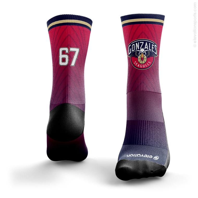 Elevation Sublimated Socks - SOX1009