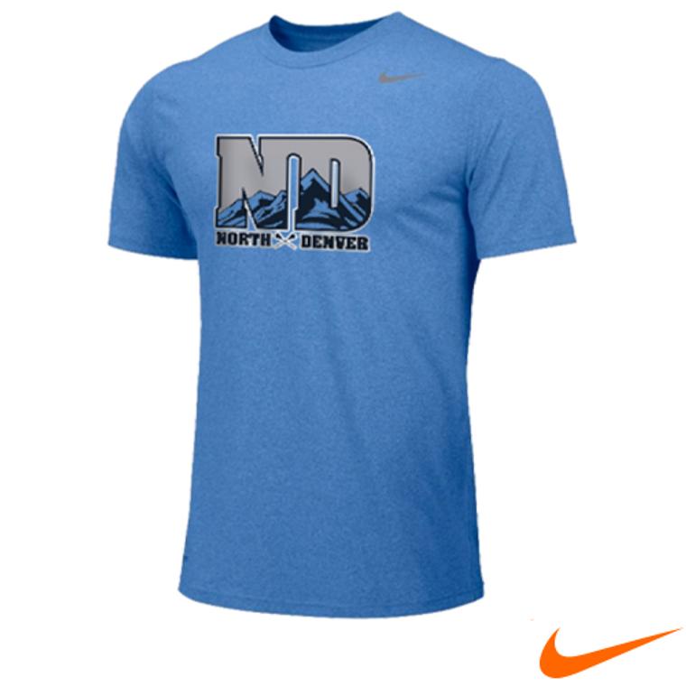 Custom Nike Team Legend dri-FIT Wicking Shirts