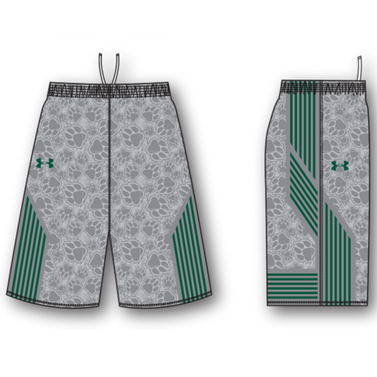 Under Armour Armourfuse Sublimated Shorts with Pockets