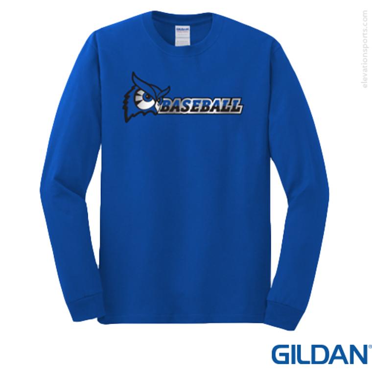 Custom Gildan 5.3 oz Heavy Cotton Long Sleeve T-Shirts