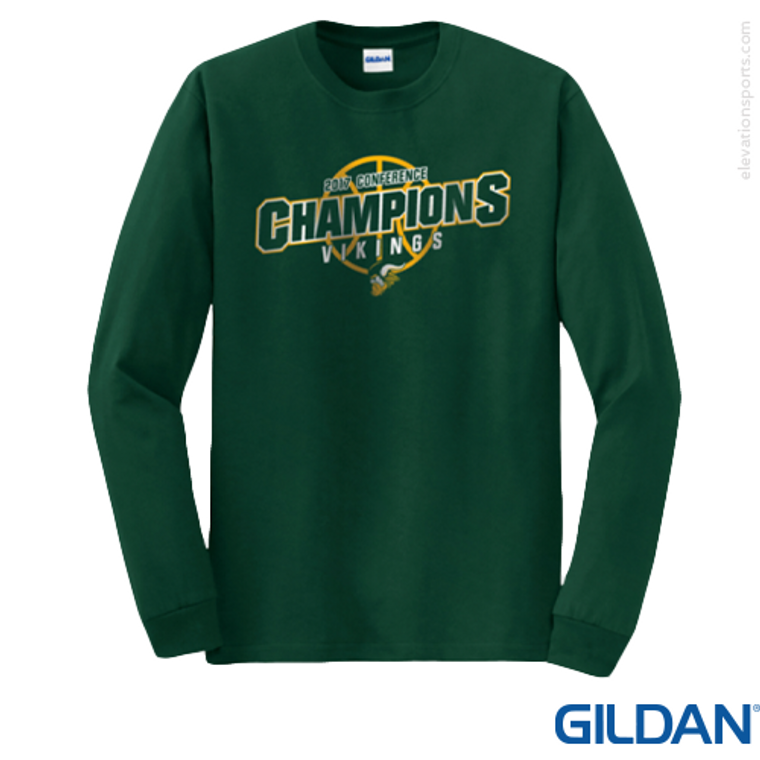 Custom Gildan 50/50 Long Sleeve T-Shirts