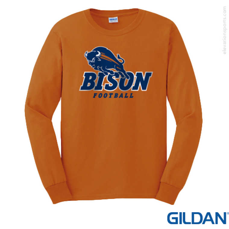 Custom Gildan 6 oz Ultra Cotton Long Sleeve T-Shirts