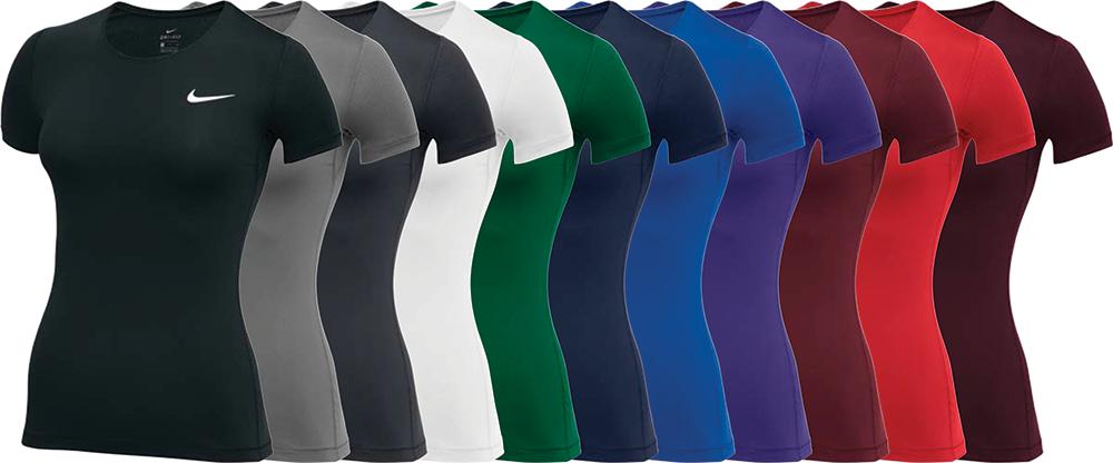 897826 Custom Nike Compression Shirts