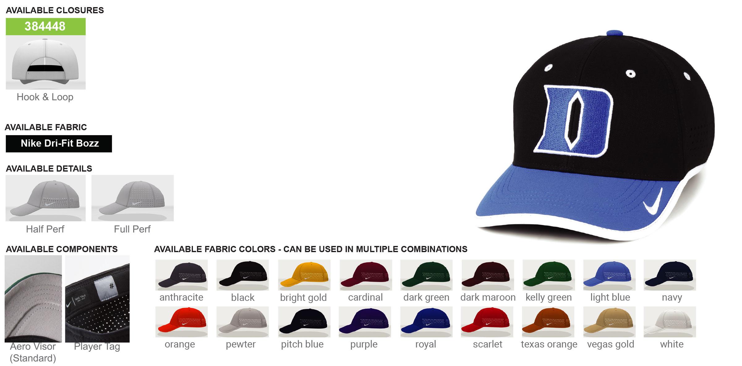 Custom Nike Booster Hats