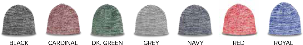 Custom Heathered Beanie - Colors