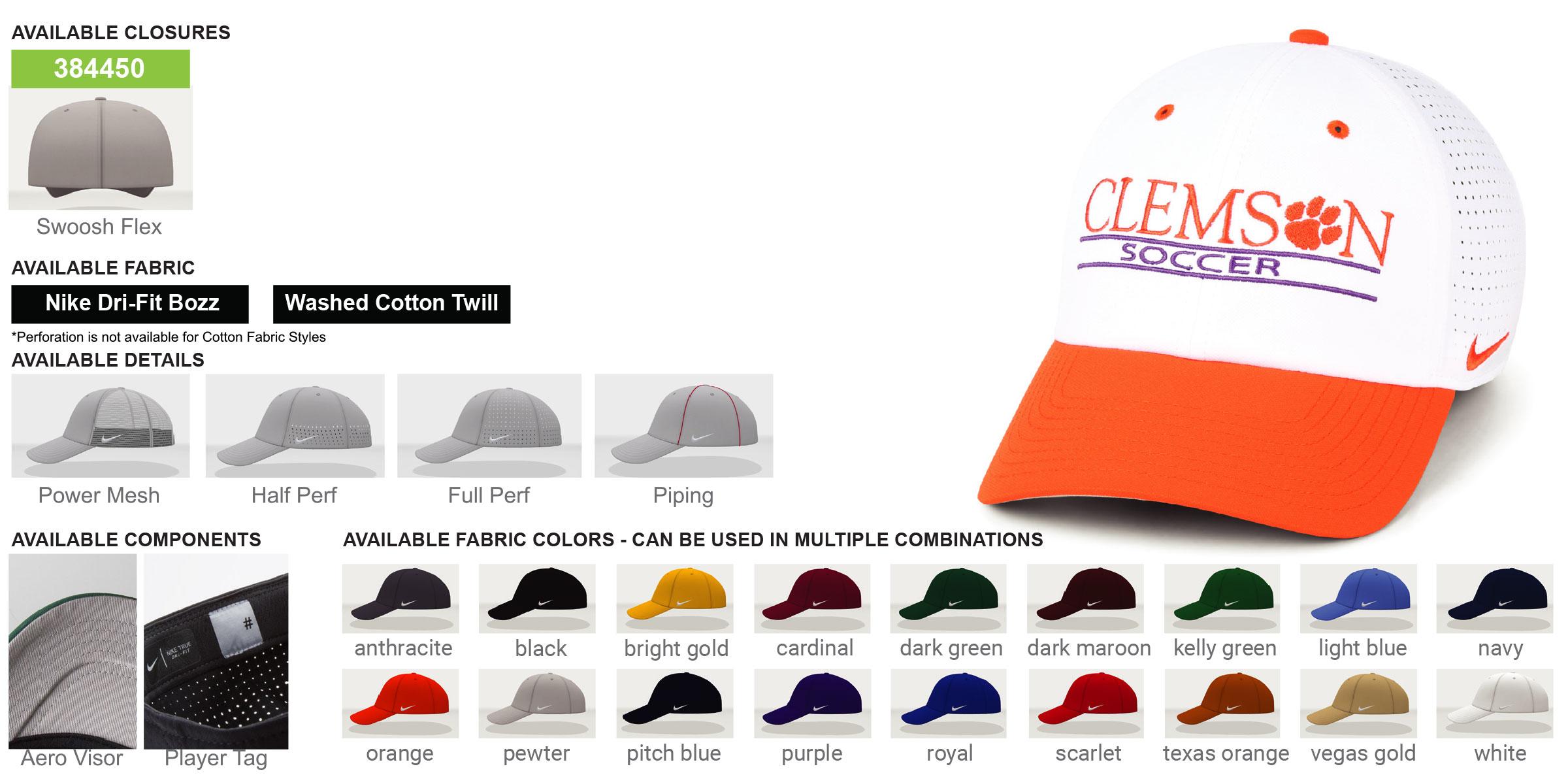 Nike Custom Heritage 86 Swoosh Flex Hats