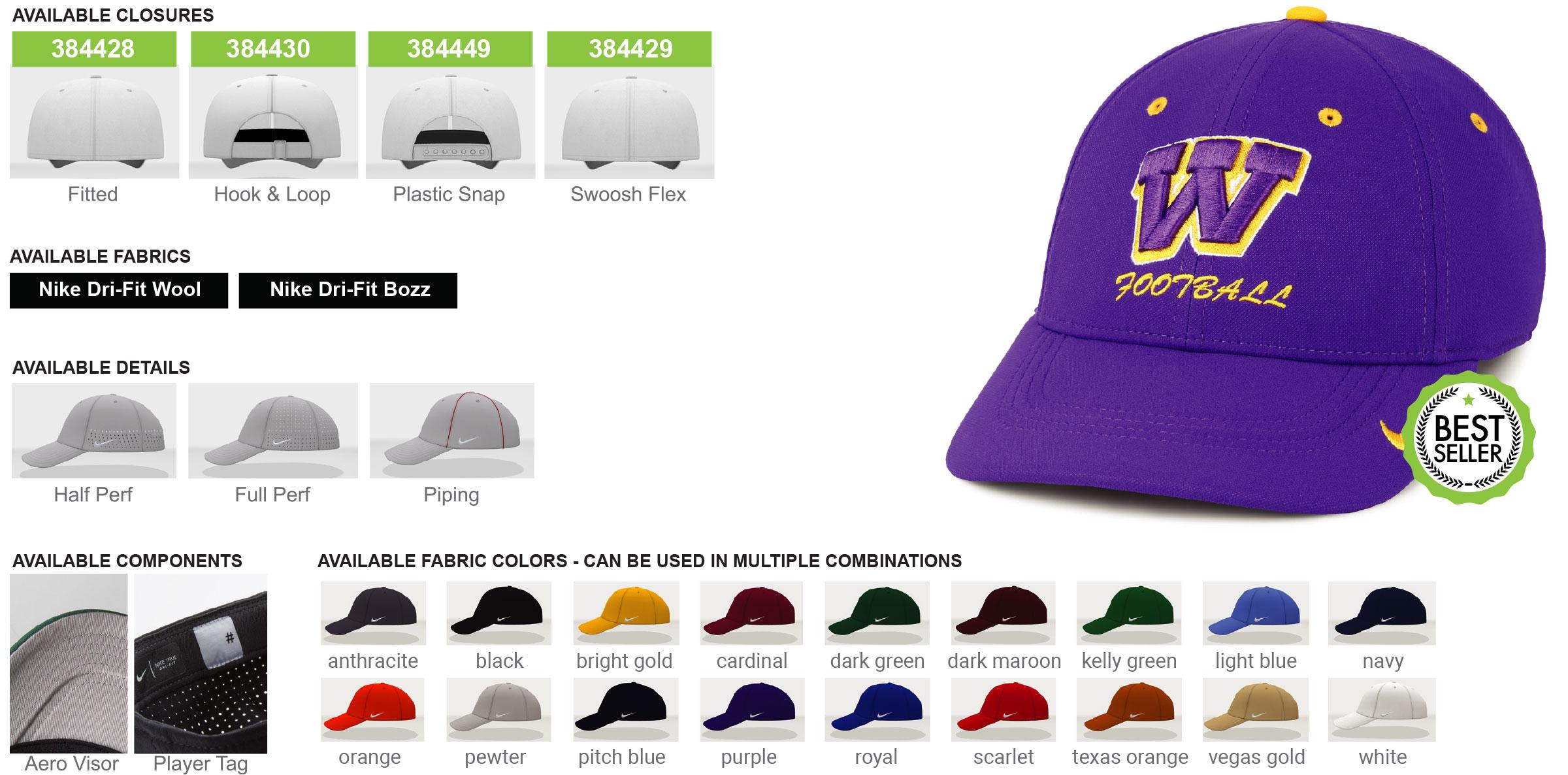 Custom Nike Legacy 91 Hats