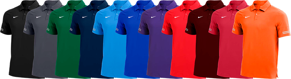 Custom Nike Flex Polo Shirts