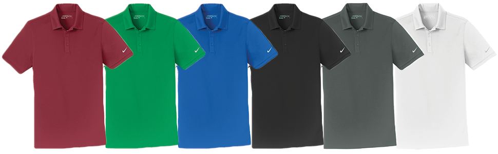 Custom Nike Golf Dri-FIT Players Modern Fit Polo - Self Fabric Collar