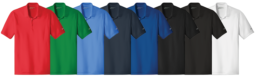 Custom Nike Golf Dri-FIT Players Classic Fit Polo Shirts
