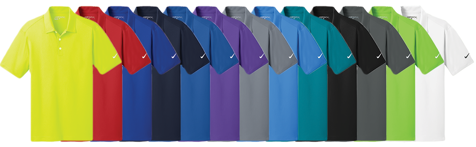 Nike Golf Vertical Mesh Polo Shirt
