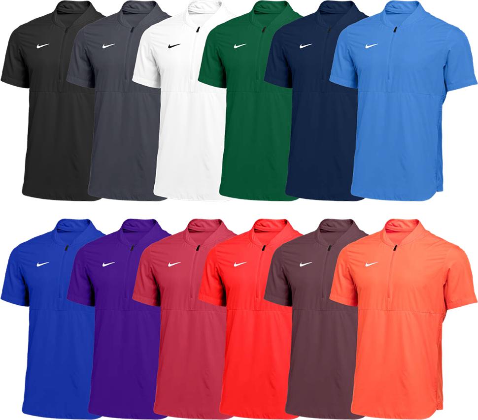 Custom Nike Short Sleeve Jackets