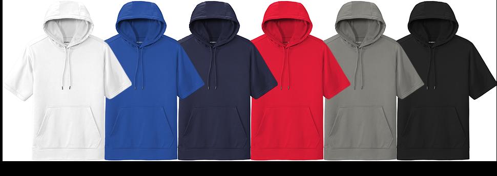 Custom Sport-Tek Short Sleeve Hoodie