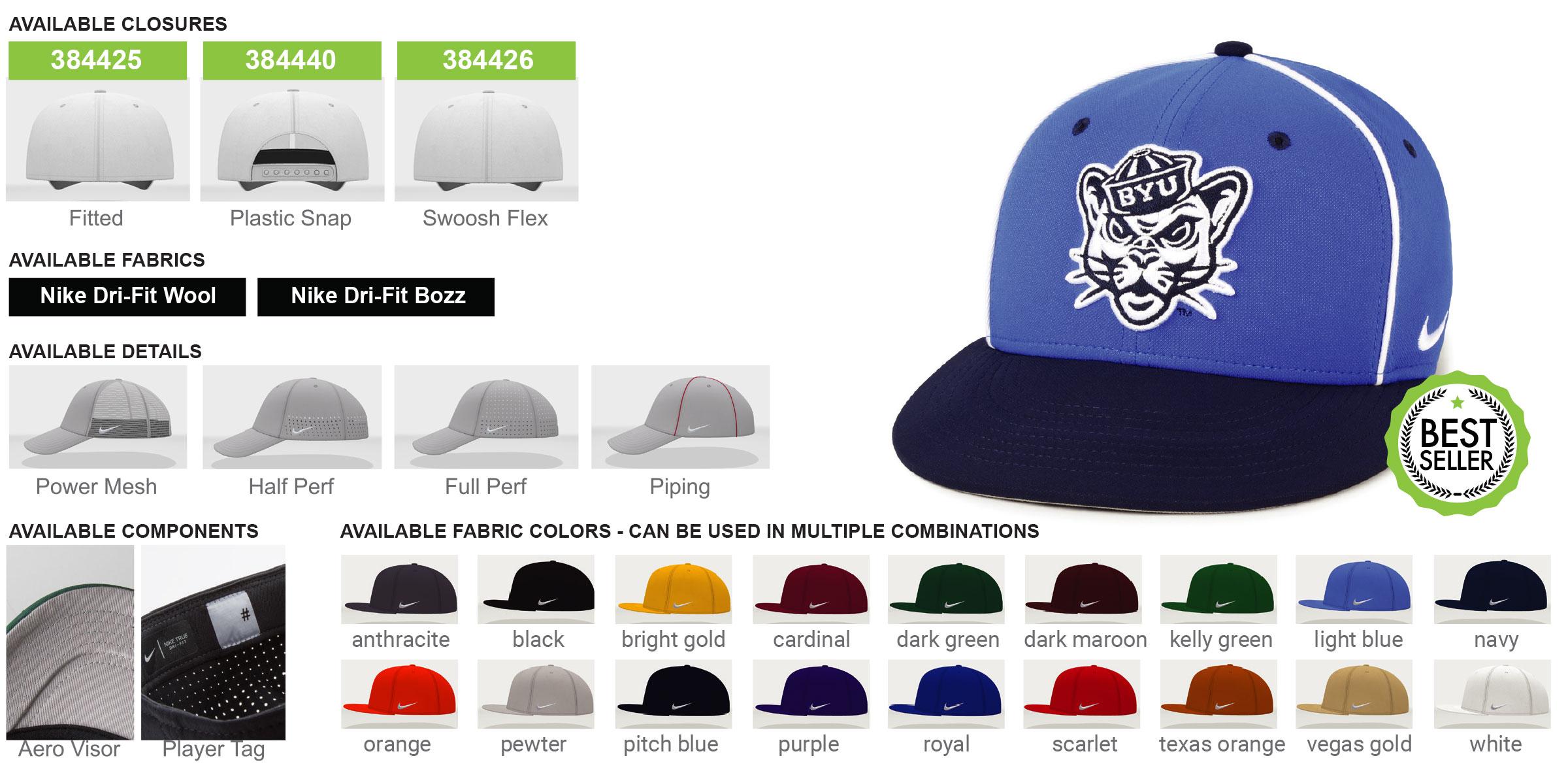 Custom Nike True Hat Product Details
