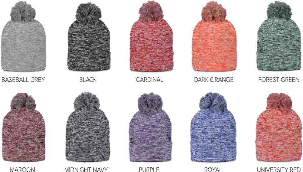 Custom Under Armour Heathered Ski Hats