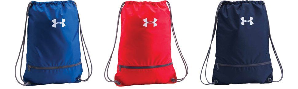 Under Armour Custom Drawstring Backpacks