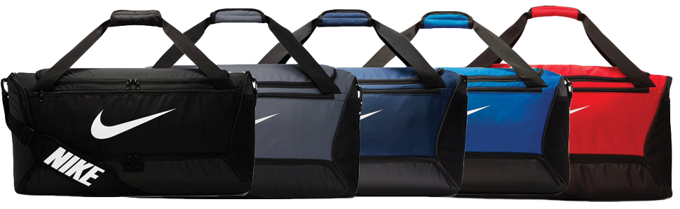 Custom Nike Brasilia Duffel Bag - Medium