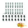 Spindle Stud Kit - Trail Gear - Fits 9/1975 - 1990 4x/5x/6x/7x & 79-85 PU/4Runner (1 Required per Axle) (HUB140050-1-KIT)