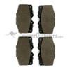 BR04465 - Front Brake Pads - Fits 9/1975-1/1990 4x/5x/6x/7x Series (ADVICS)