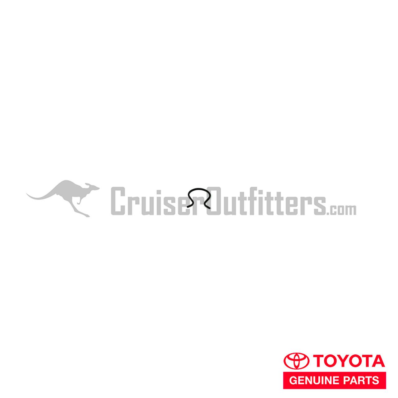 Window Crank Retainer Clip - OEM Toyota - Fits (INT01274)