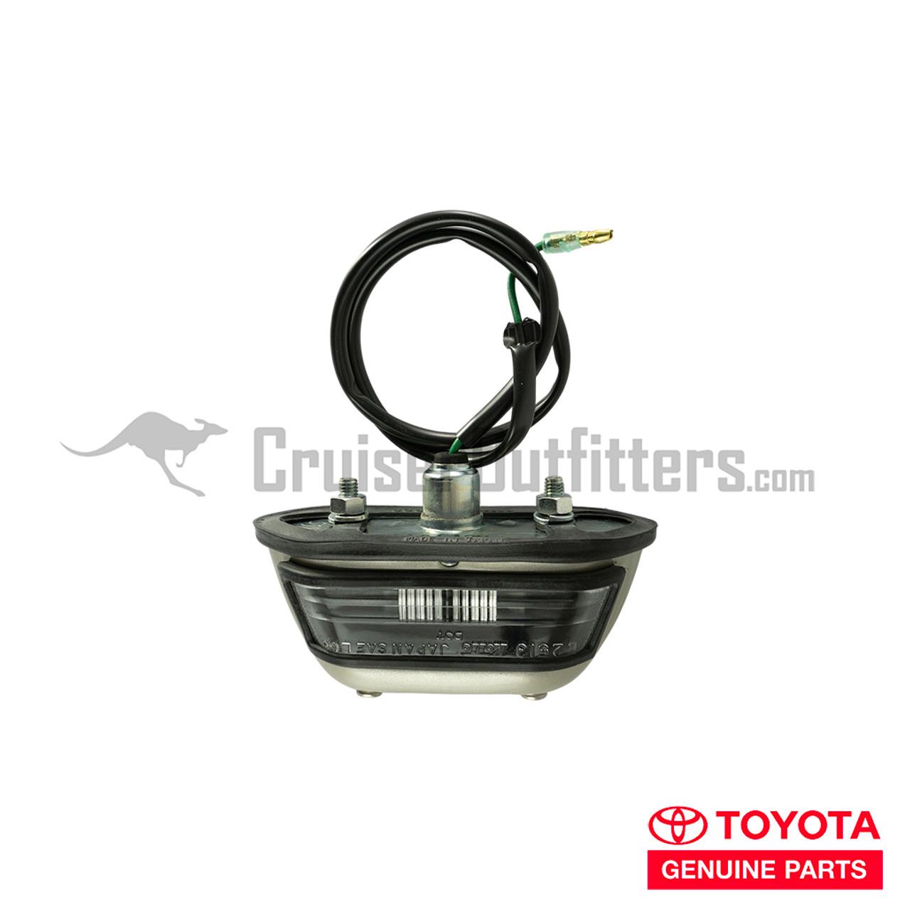 License Plate Light - OEM Toyota - Fits 4x Series (RLT60020)