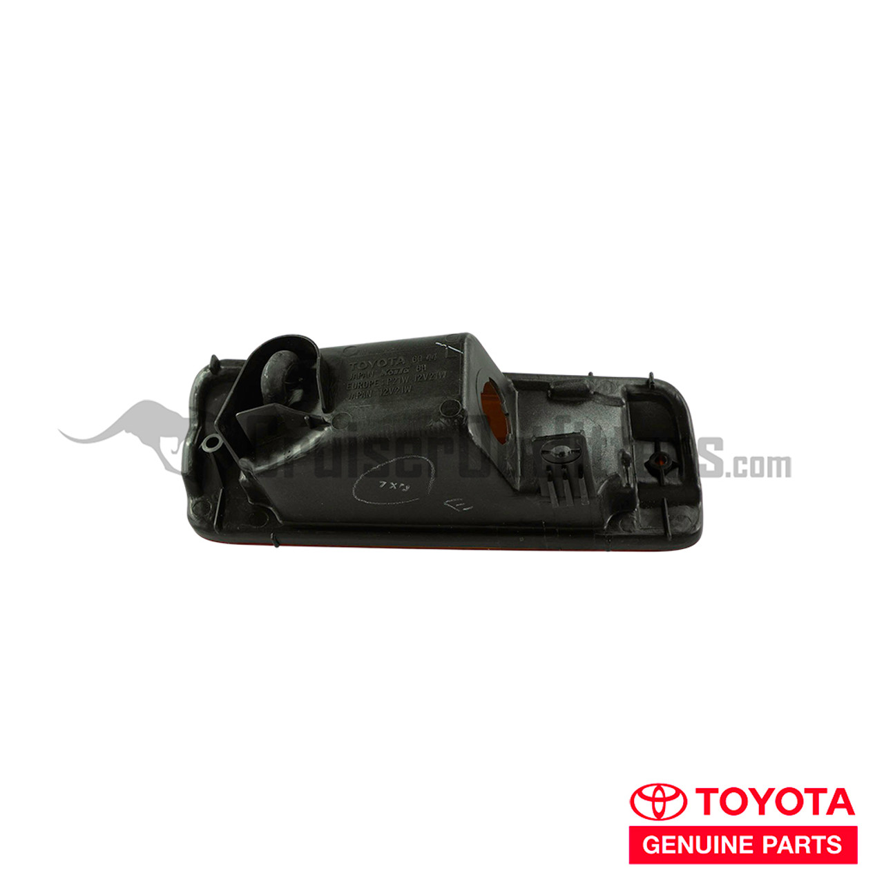Front Turn Signal Assembly - OEM Toyota - Fits 90+ LJ7x Left Hand (LENS60272)