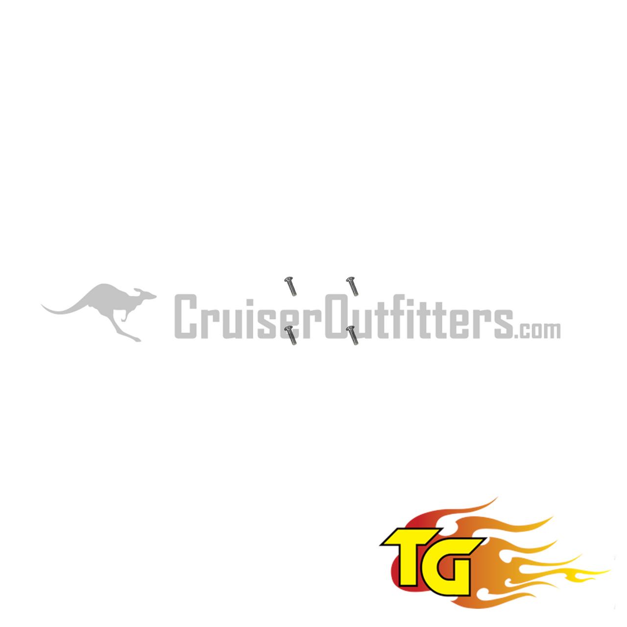 Chromoly Spindle Nut Kit (Pair) - Fits 9/1975-2007 4x/5x/6x//8x/100 Series & 1979 - 1985 Mini Truck (HUB300519)