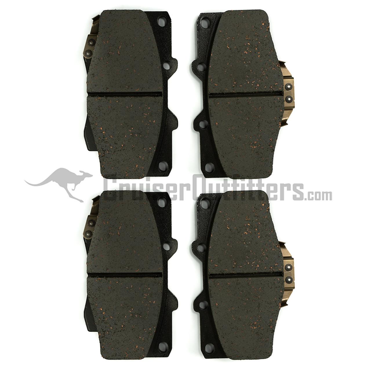 BRAD0436 - Front Brake Pads - Fits 1990+ 7x Series & 1989-1995 Truck/4Runner (ADVICS)