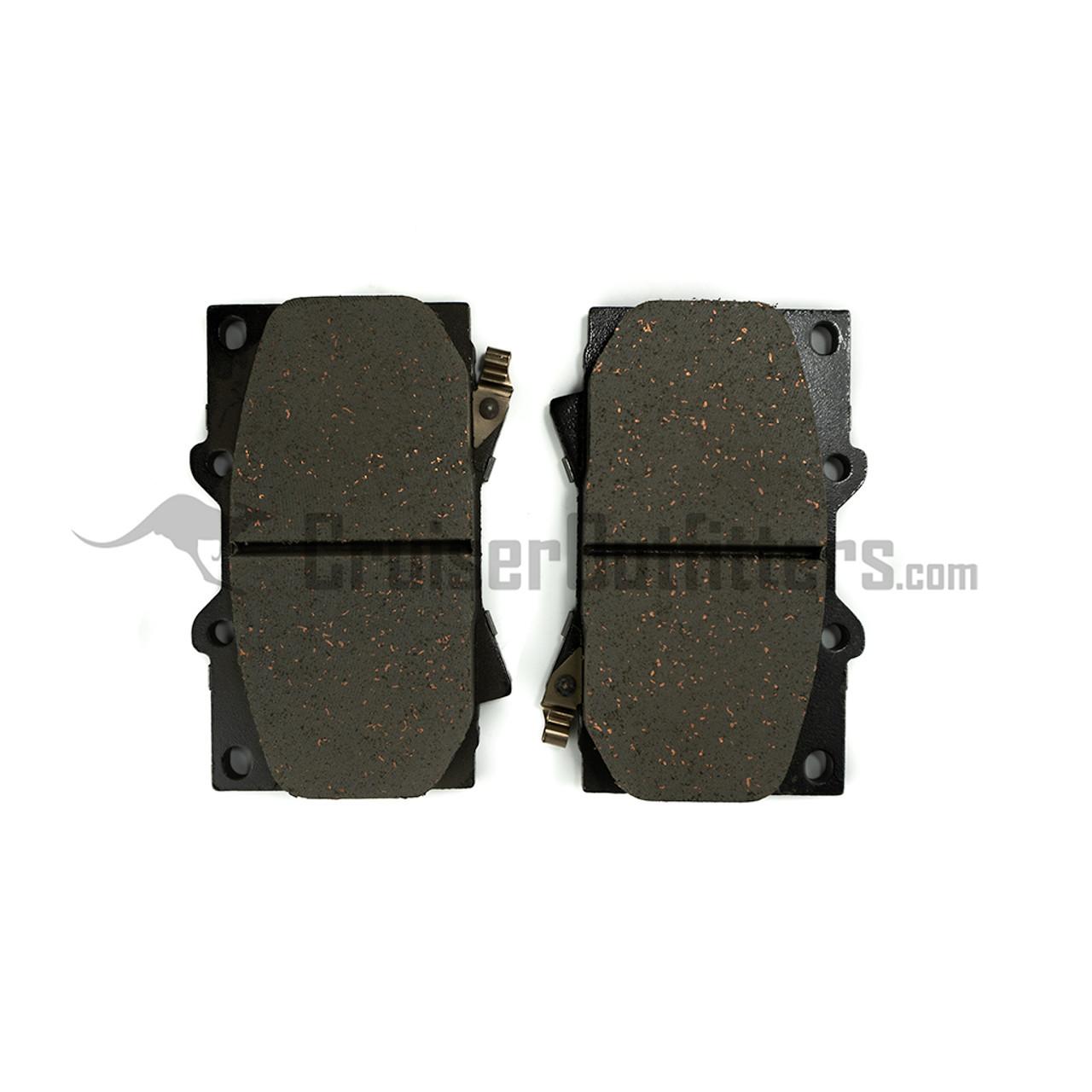 BRAD0772 - Front Brake Pads - Fits 1998 - 2007 100 Series (ADVICS)