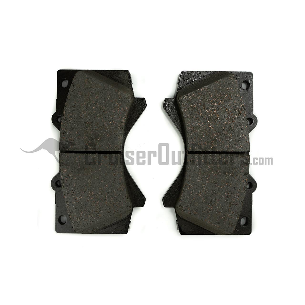 BRAD1303 - Front Brake Pads - Fits 2008+ 100 Series (ADVICS)