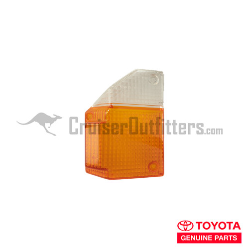 Turn Signal Lens - OEM Toyota - LH - Fits 7x Series (LENSF70LH)