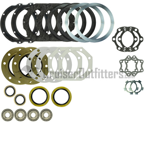 FA9097KIT - 1/1990-1/1998 80/81 Series & LX450 Front Axle Rebuild Kit