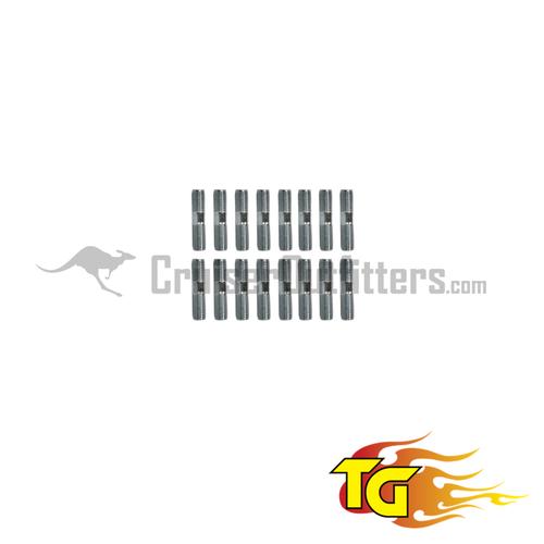 Super Metal Spindle Stud Kit (1 Per Axle) - Fits 9/1975 - 1990 4x/5x/6x Series & 1979 - 1995 Mini Truck (HUB300573)