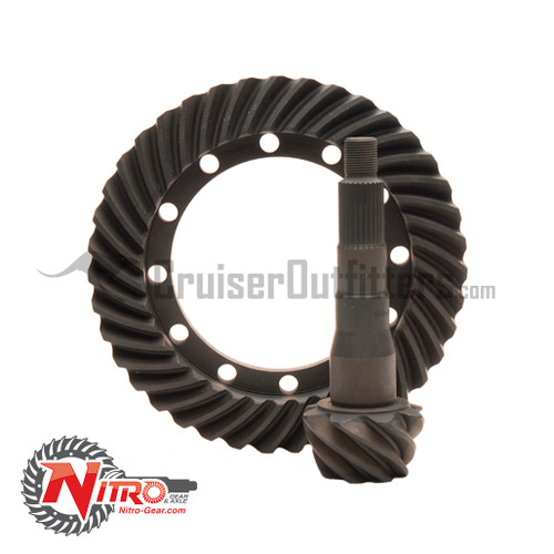 TOYLC488NG - Ring and Pinion Gear Set - Land Cruiser 4x/55/6x F&R & 8x Rear Only - 4.88 Ratio