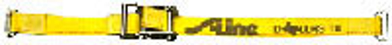"""2"""" x 16' E Track Ratchet Strap with 3 Piece End Fitting (195605)"""