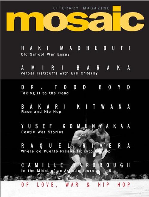 Mosaic Literary Magazine Issue #14