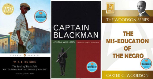 Captain Blackman, The Mis-Education of the Negro, and The Souls of Black Folk