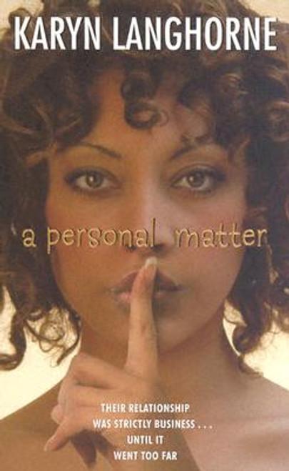 A Personal Matter