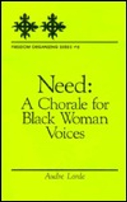 Need: A Chorale for Black Woman Voices (Freedom Organizing)