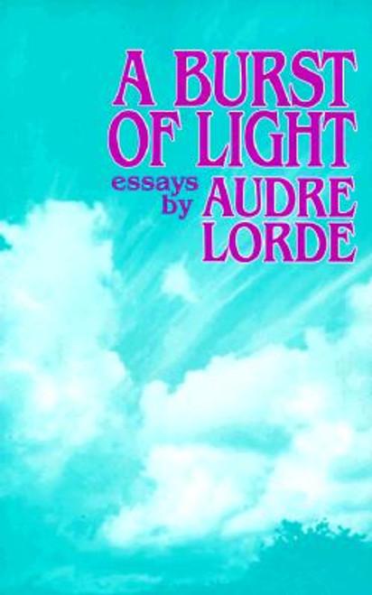 A Burst Of Light: Essays