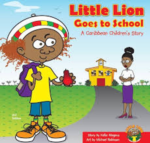 Little Lion Goes to School