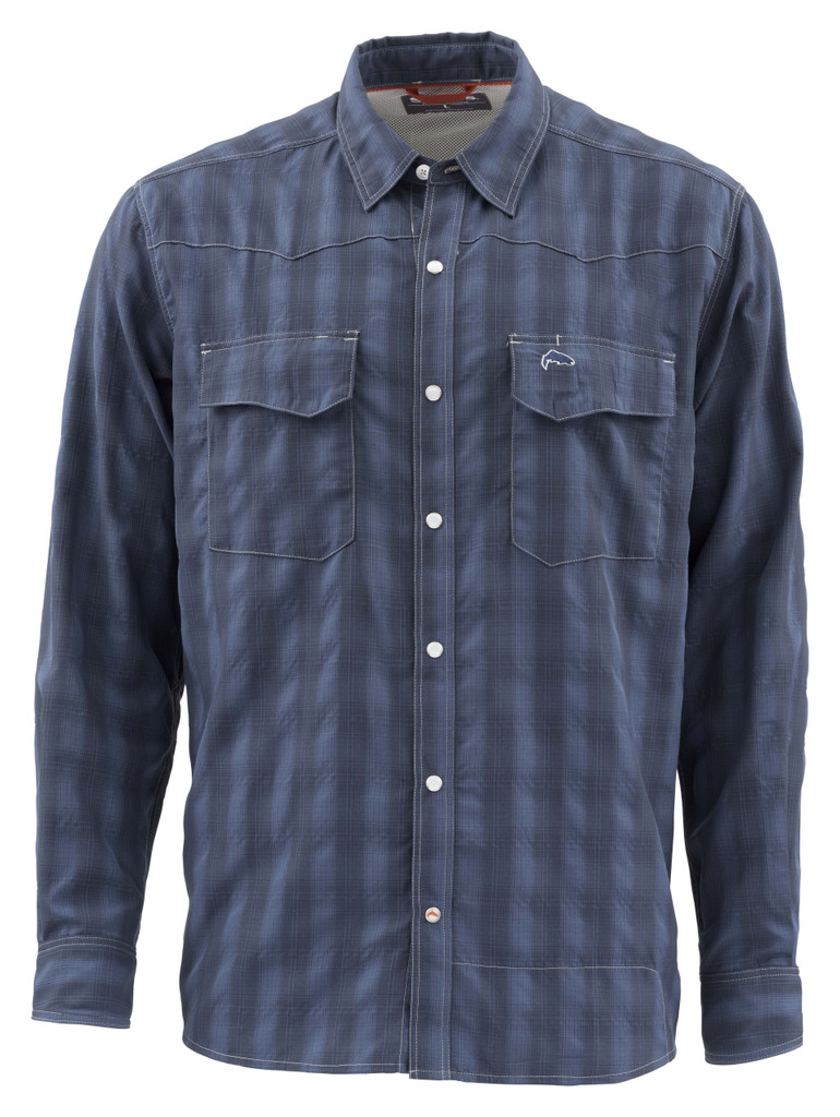 Big Sky Shirt - Admiral Blue
