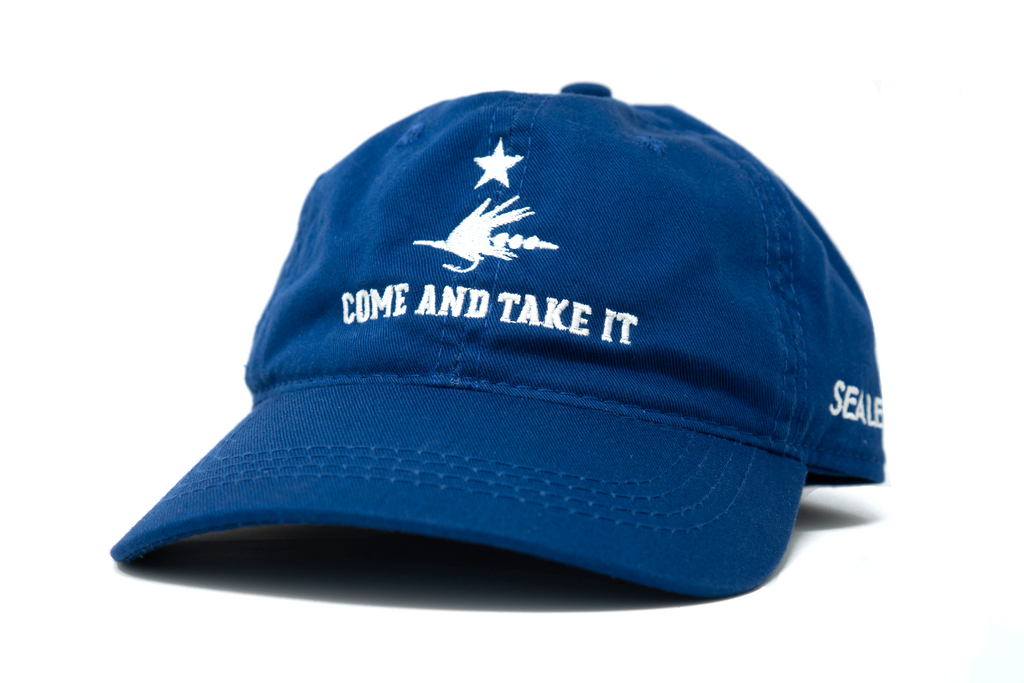 Come and Take It Fly Fishing Hat - Navy
