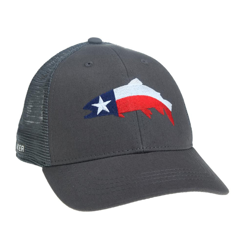 Texas Trout Hat - Grey